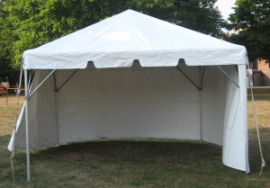 10 x 10 White Free-Standing Tent