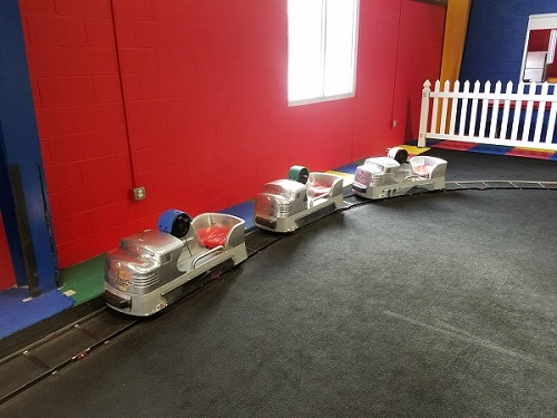 Kids Steam Train Set (30x30 Oval Track)