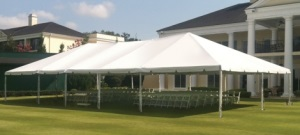 15 x 75 White Free-Standing Tent