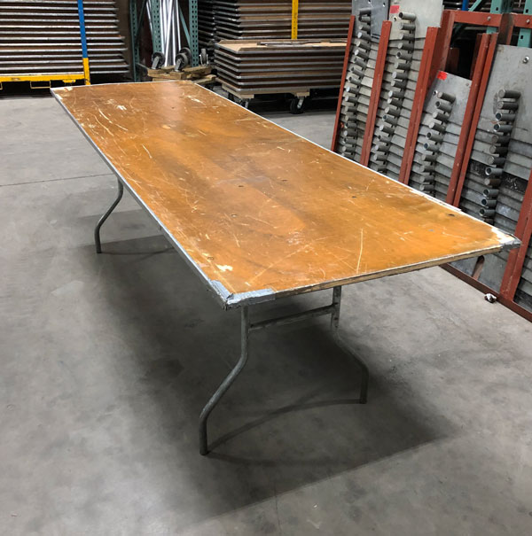 Used 8' Banquet Table