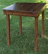 36 Inch Square Farm Table