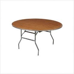 72 in.  Round Table (Seats 10)