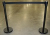 Stanchion w/Black Retractable band