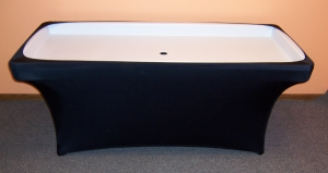 Spandex Cover for Chillin Table (Black or White)