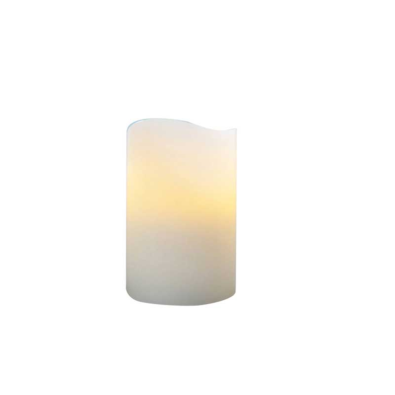LED 4in Pillar Candle