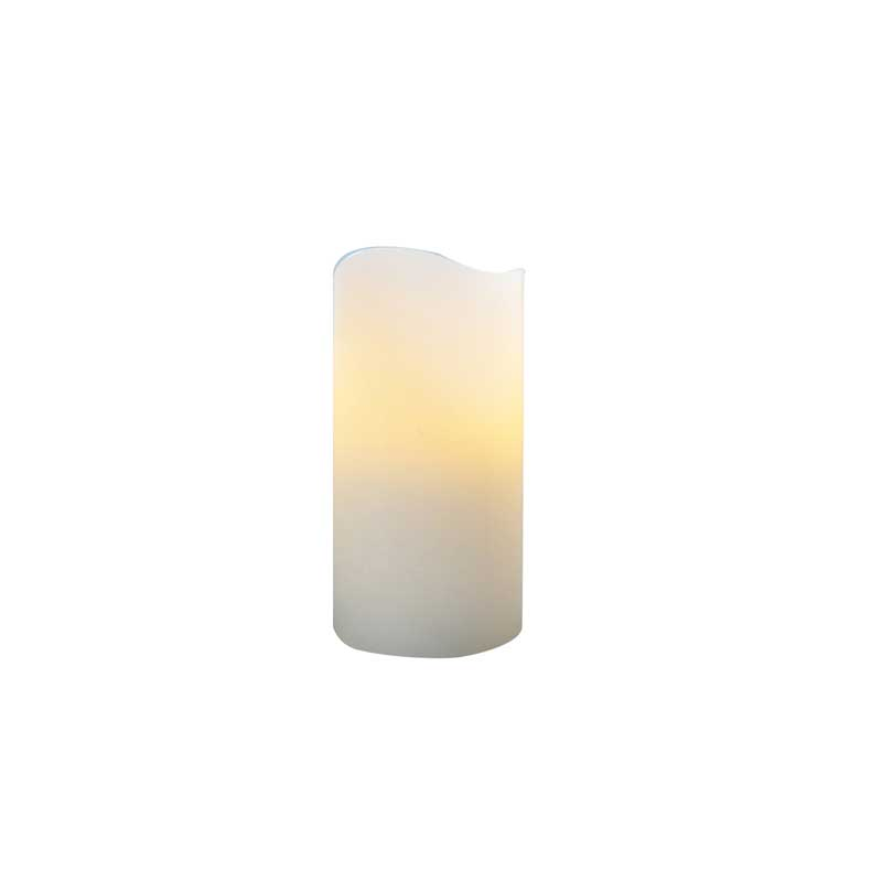 LED 6in Pillar Candle