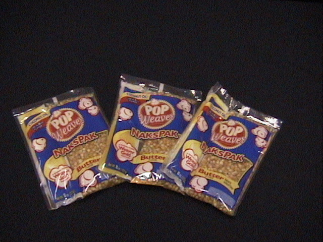 Popcorn 8oz package