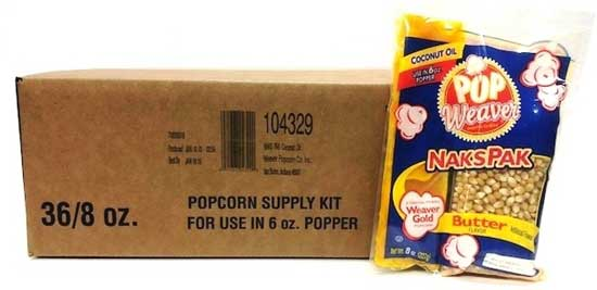 Popcorn Supply Box