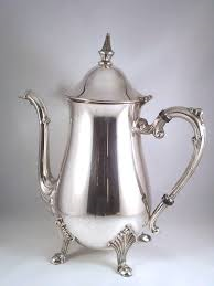 Silver Coffee/Tea Pourer