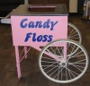 Cotton Candy Display Cart