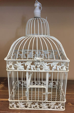 Large Square Bird Cage
