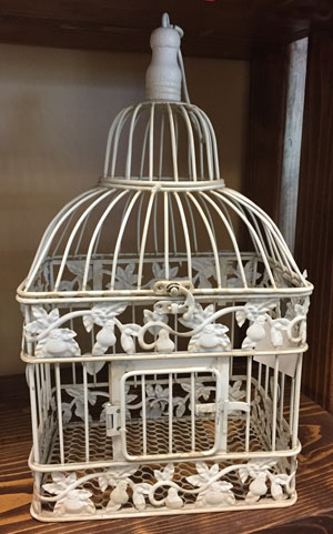Small Square Bird Cage