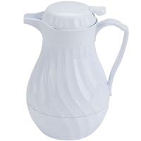 8 Cup Insulated Coffee Pourer (White)