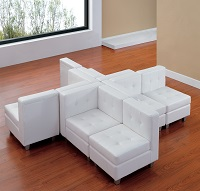 White Modular Lounge Furniture