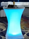 LED Lit Bistro Table