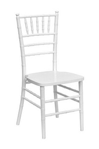 Children's White Chiavari Chair