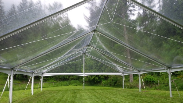 40 x 55 Clear Top Free-Standing Tent