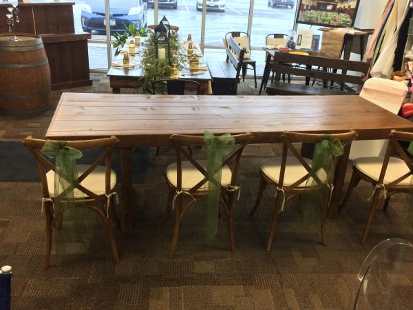 Fruitwood Farm Table Top