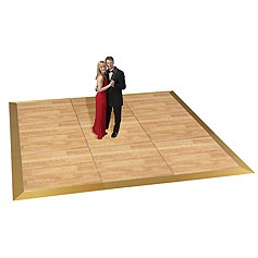 Birch Wood 4'x4'  Dance Floor