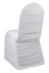 Ruched Spandex Banquet Chair Cover