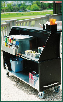 Portable Black Bar