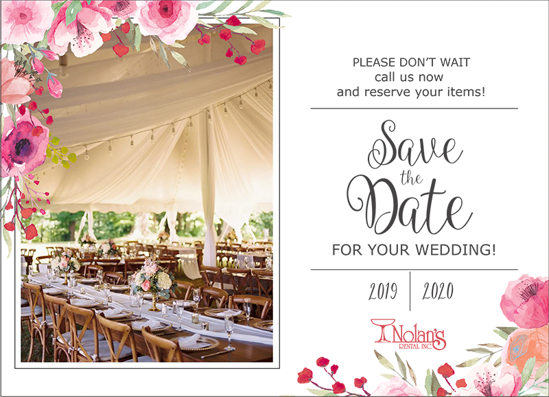 Save the date for your wedding!