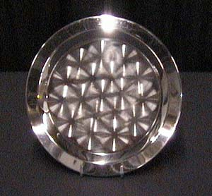 15 in. Round Stainless Tray