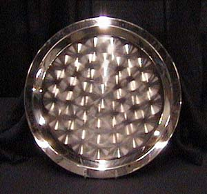 20 in. Round Stainless Tray
