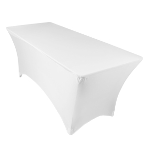 6' Spandex Table Cover (White or Black) Rentals