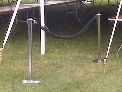 Stanchion Rope (Black Velour) Rentals