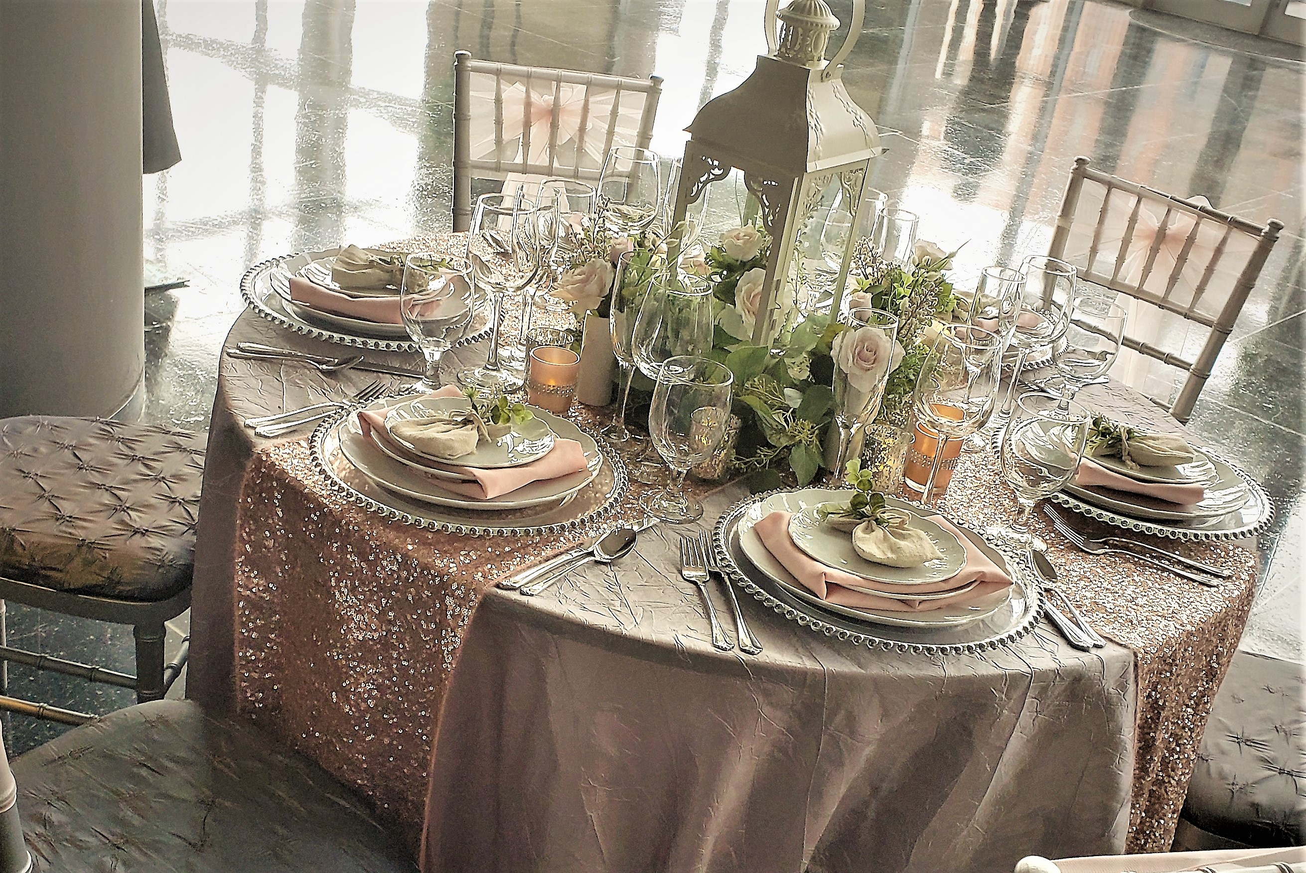 Custom Table Scapes Rentals
