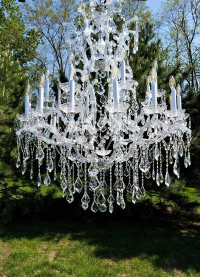 Grand Palace Crystal Chandelier Rentals