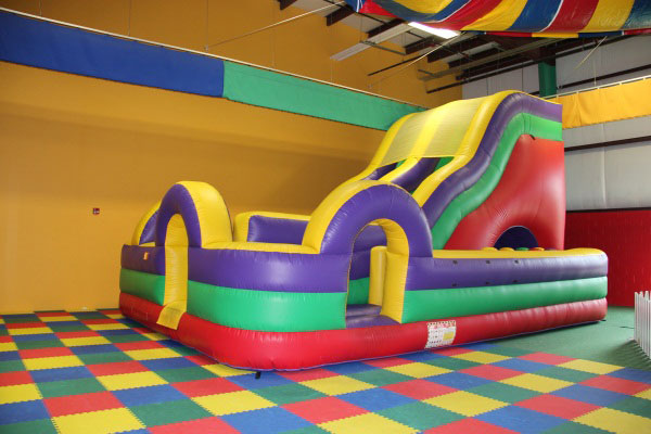 18' Slide w/Obstacle Course Rentals