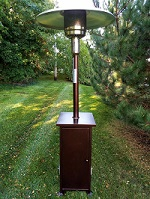 Bronze Patio Heater-Square Rentals