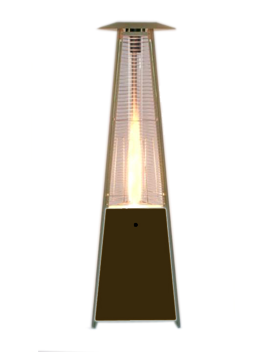 Patio Heater with Glass Center Piece Rentals