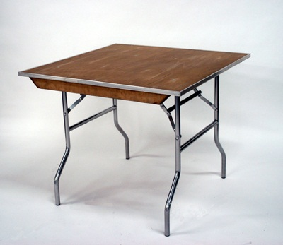 5' Square Table (Seats 8) Rental